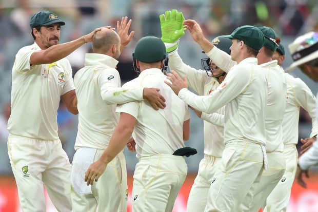Lyon snares Kohli but India in control in Adelaide