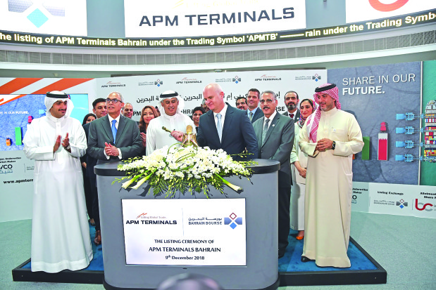 APM Terminals shares start trading on Bahrain Bourse