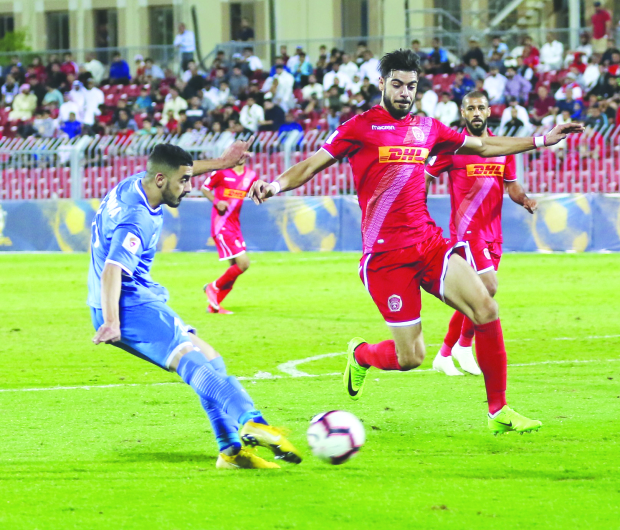 Muharraq barge into King's Cup semis