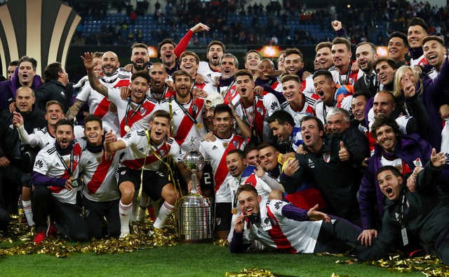 River edge out Boca after extra time to win Copa Libertadores