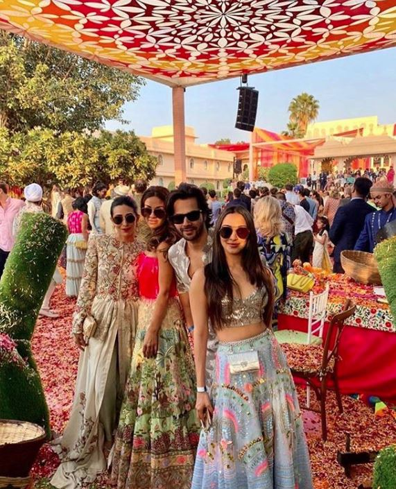 SRK, Aamir, Aishwarya, Salman, Ranveer come together at Isha Ambani's sangeet!