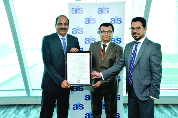 AFS gets security standards certification