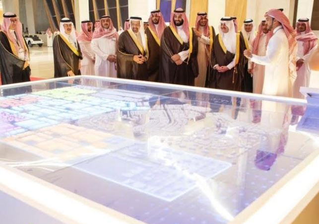 Saudi Crown Prince lays foundation stone for King Salman Energy City