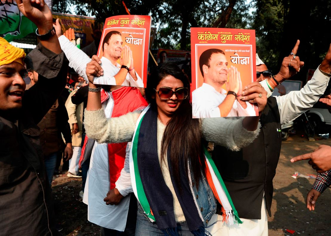 India's ruling party set to lose key state