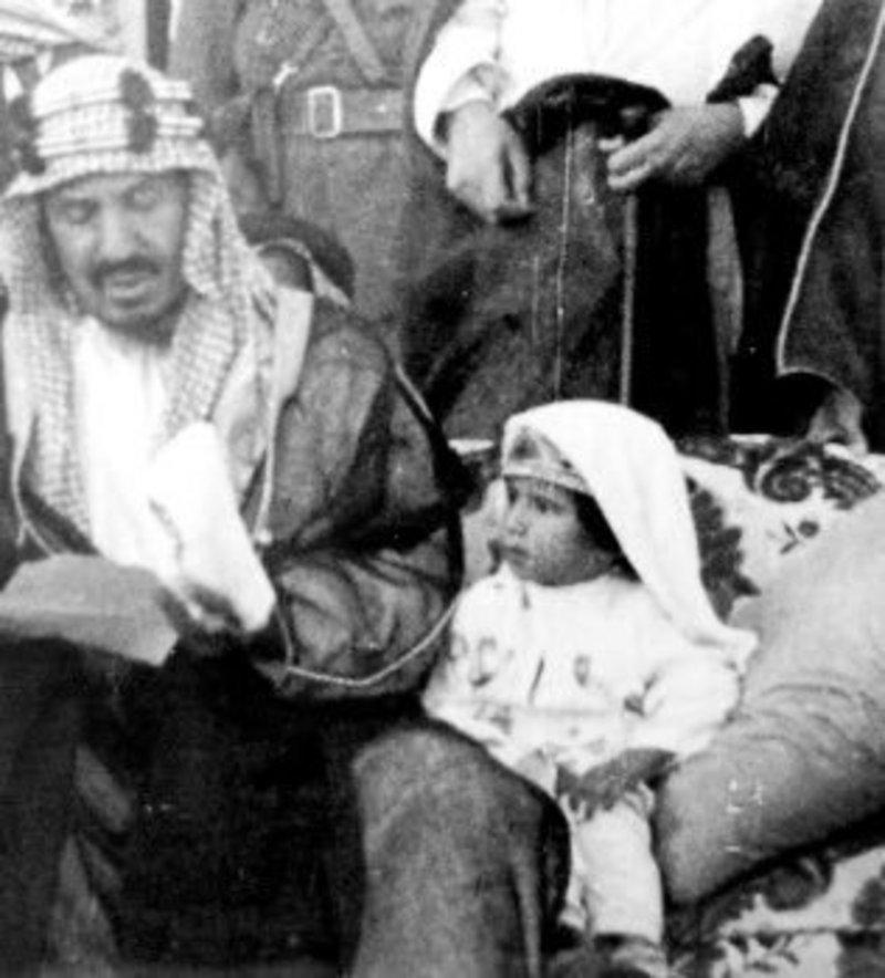Photo showing Saudi King at the age of three goes viral