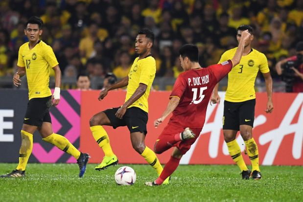 Asean Football Federation Championship: Malaysia rally to hold Vietnamese