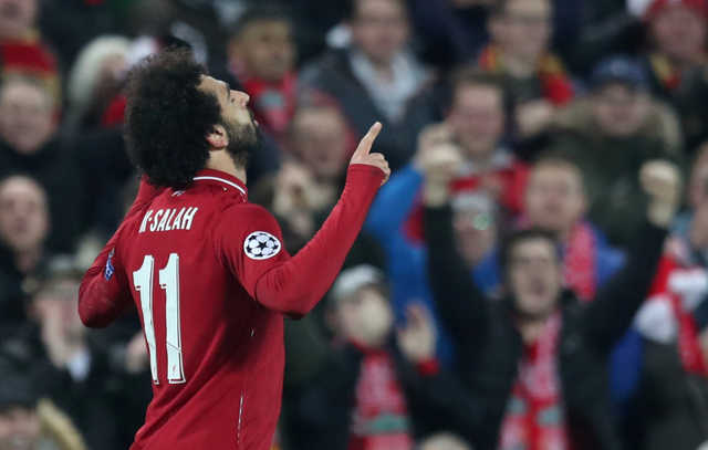 UEFA Champions League: Salah sends Liverpool into last 16, Moura rescues Spurs