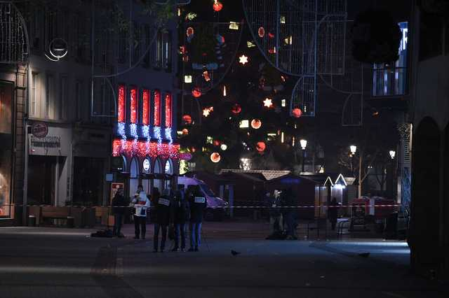 Gunman on run after killing three at Strasbourg Christmas market