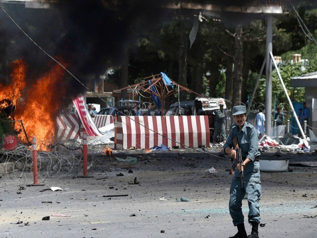 Death toll in suicide attack near Kabul jumps to 12