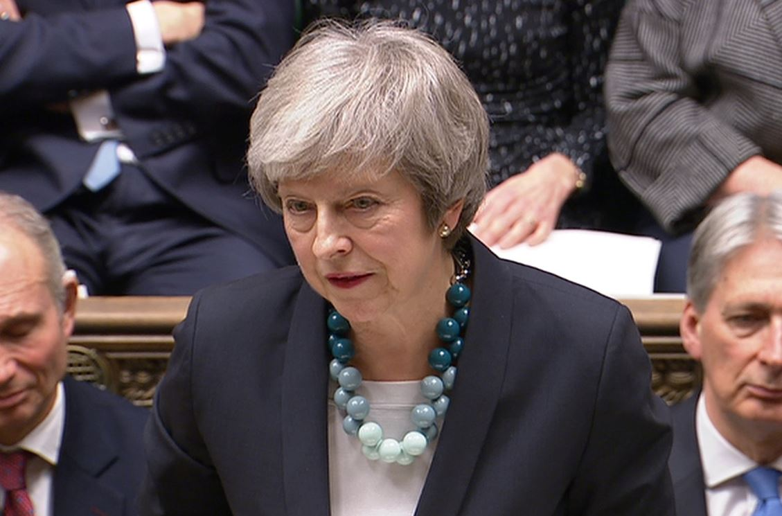 Conservative lawmakers trigger no confidence vote in UK PM May's leadership