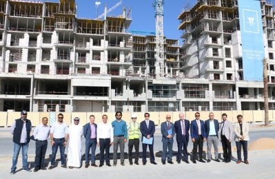Work in full swing at Nshama's prime Dubai projects