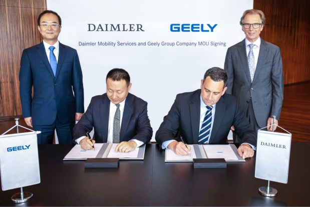 Daimler and Geely join hands for new venture