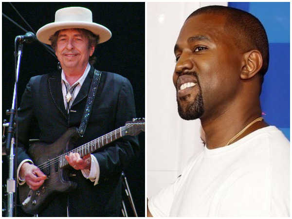 Let's get together: Kanye West to Bob Dylan