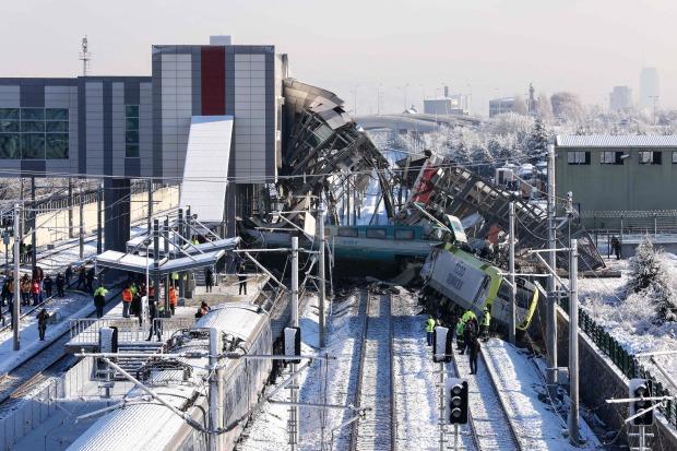 UPDATE: Ankara train crash leaves nine dead, 86 injured