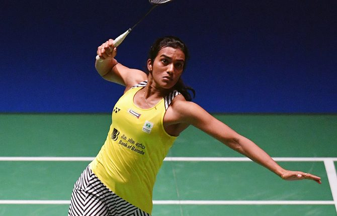 India's sizzling Sindhu reaches badminton Tour Finals decider