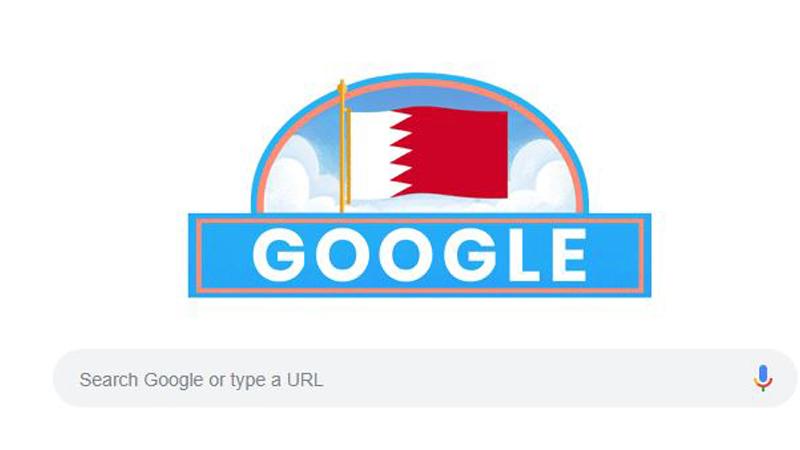 Google celebrates Bahrain's National Day