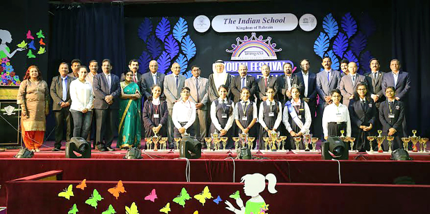 Indian School honours youth festival winners