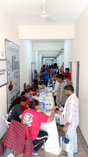 Photo Gallery: Health camp for workers