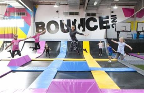 World's first female only trampoline park opens in Riyadh