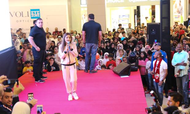 Pop star Hala enthrals fans