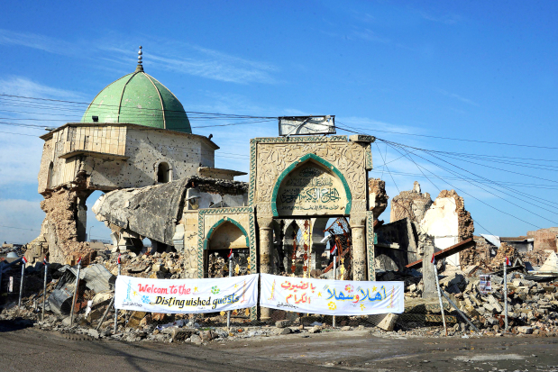 Iconic Mosul mosque to be rebuilt