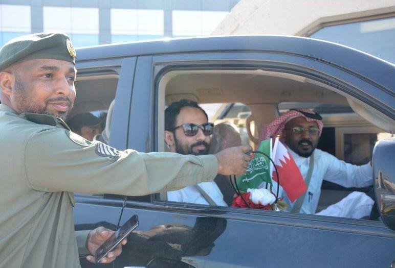 73,000 passengers cross causeway on Bahrain's National Day
