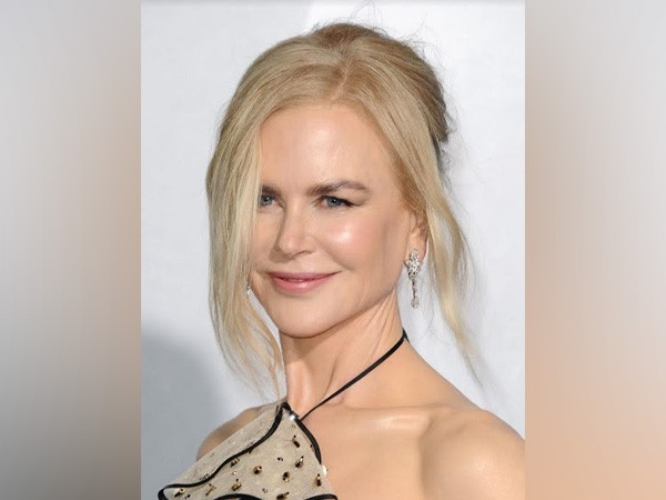 Nicole Kidman wears platinum jewellery from Harry Winston at Los Angeles premiere of 'Aquaman'