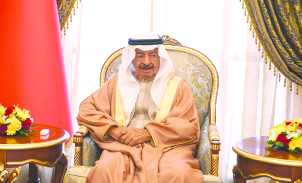 Premier paid tribute to the people of Bahrain for their loyalty and dedication in serving the nation
