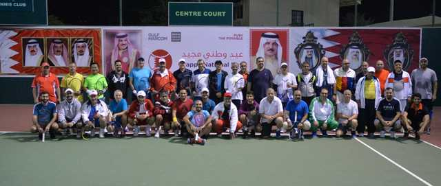 Photo Gallery: Forty players took part in the National Day tennis tournament organised by BTC