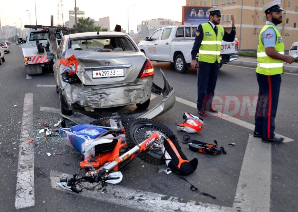 Bahrain News: Bahraini man dies and pregnant woman injured in road