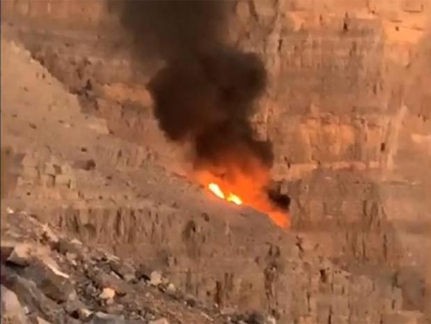 Helicopter crashes into mountains in Ras Al Khaimah