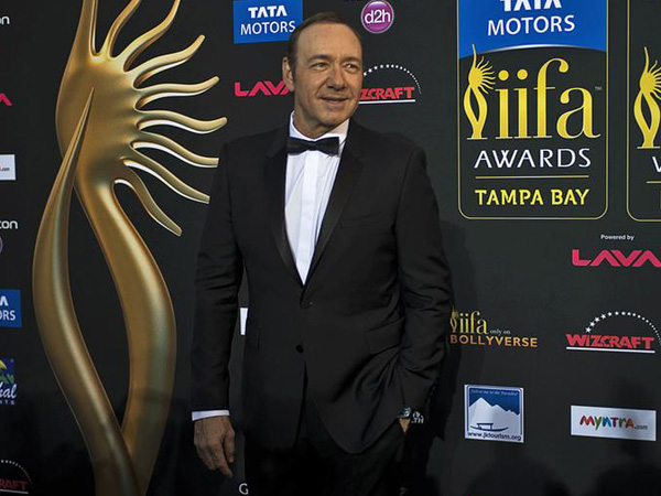 Kevin Spacey makes public appearance for first time after sexual assault charges