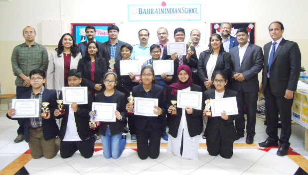 The Indian School Bahrain held the finale of the Youth Leadership Programme in collaboration with ICAB Toastmasters Club. The programme featured a workshop over eight weeks to enable young pupils under the age of 18 to develop their communications and leadership skills through practical experience. The finale was held at the school's campus in Isa Town. Above, students with their certificates at the end of the programme.