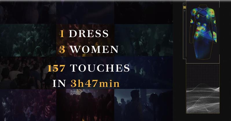 OMG: VIDEO:  A dress that shows how frequently women are touched without consent