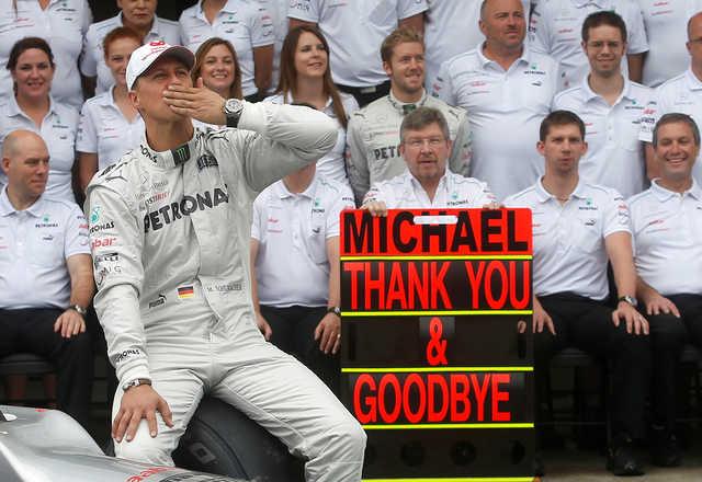Formula One pays tribute on Schumacher's 50th birthday