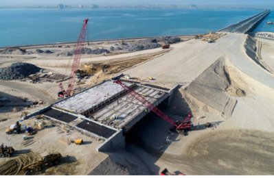 Hyundai E&C to complete work on giant Kuwait bridge this year