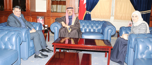 <p>Education Minister Dr Majid Al Nuaimi met Royal College of Surgeons in Ireland – Medical University of Bahrain president Professor Sameer Otoom and discussed academic development plans.</p>