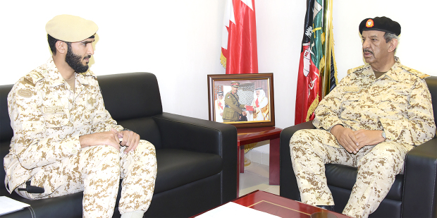 <p>BDF Commander-in-Chief Marshal Shaikh Khalifa bin Ahmed Al Khalifa inspected a number of BDF units to review their combat and administrative readiness. </p>