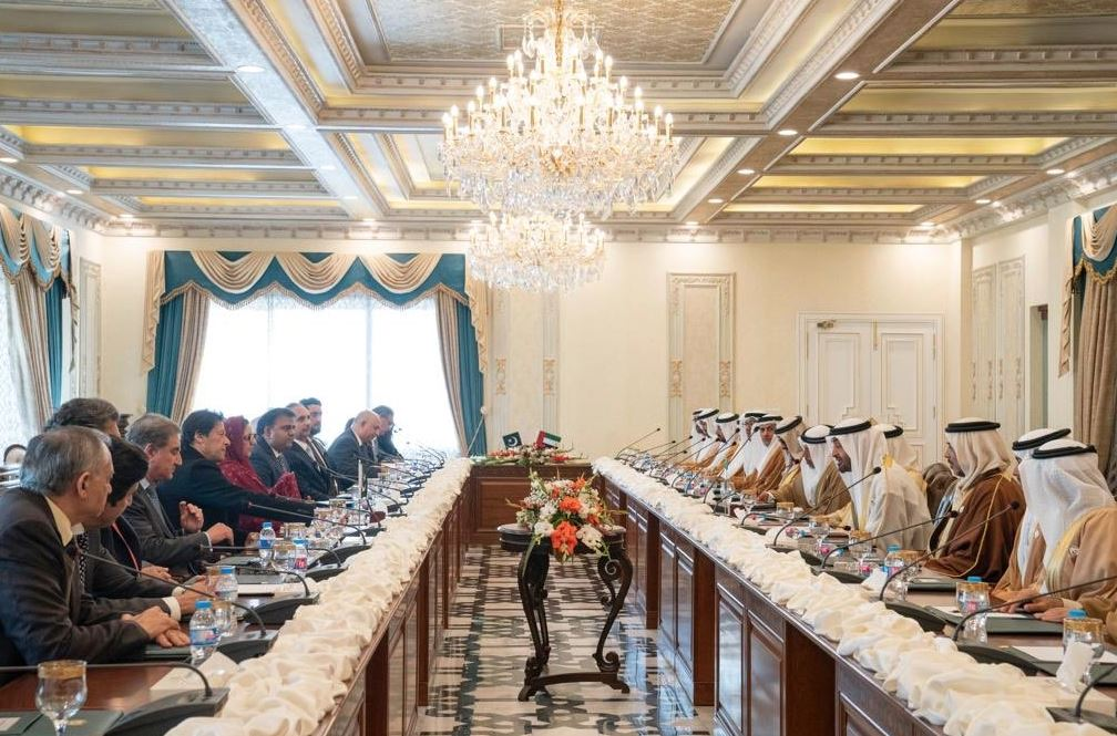 PHOTOS: UAE, Pakistan to closely work on Afghanistan peace reconciliation