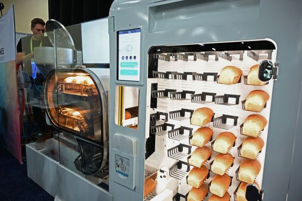 Breadmaking robot startup eyes fresh connections