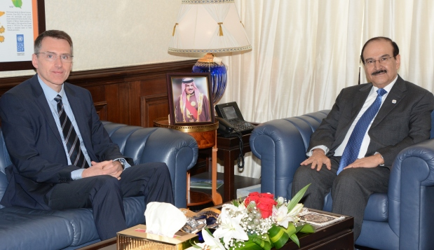 Electricity and Water Affairs Minister meets German Ambassador