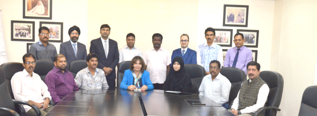 Y K Almoayyed & Sons bid farewell to 10 employees