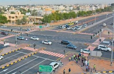 SRTA completes work on key Sharjah intersection