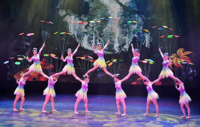 Chinese Guangxi Acrobatic Art Troupe to perform on Jan 25
