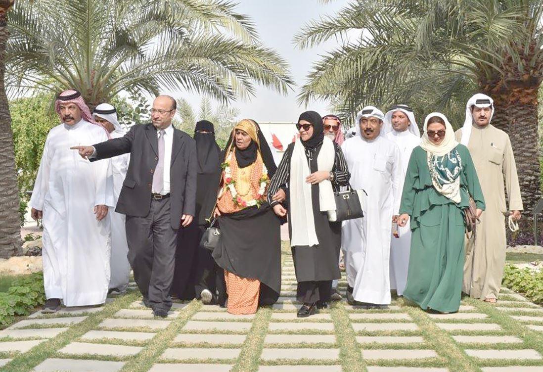 Delegation from Dar Al Muharraq Parents' Care Home visits GPIC