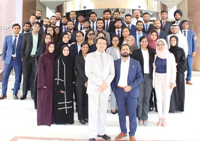 Workshop conducted by leading professional services firm