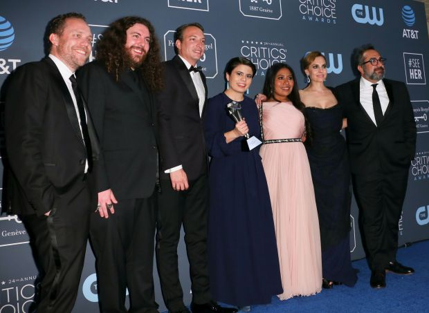 Cuaron's 'Roma' a top winner at the Critics' Choice Awards