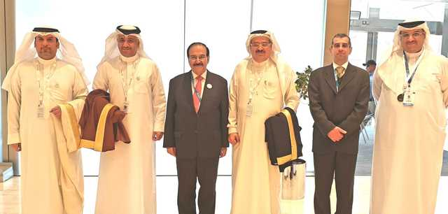 Electricity and Water Affairs Minister and Transportation and Telecommunications Minister attended an opening ceremony