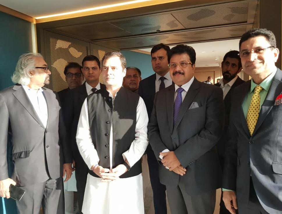 <p><em>Mr Kurian and Mr Gandhi during their meeting</em></p><p><br></p>