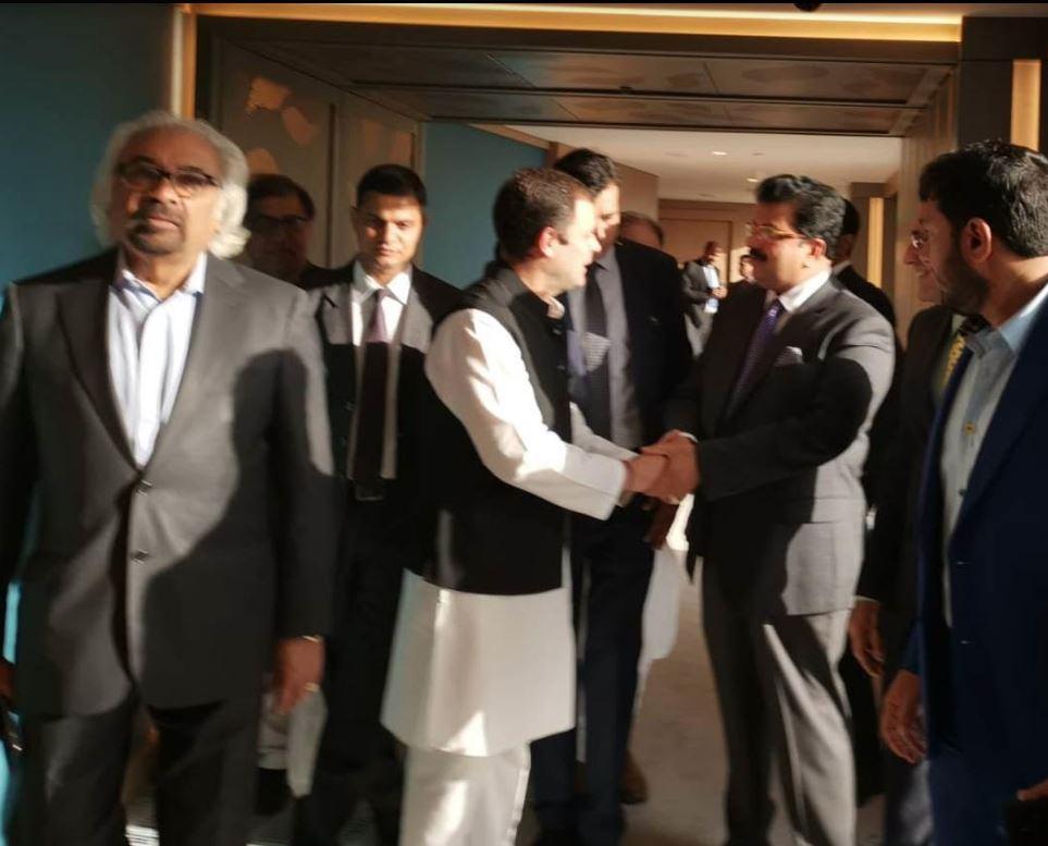 <p><em>Mr Kurian and Mr Gandhi during their meeting</em></p>